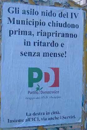 Manifesto Asili Nido