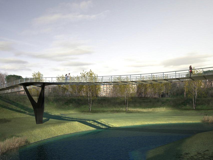 ponte ciclo pedonale