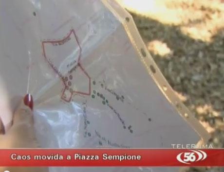 cartina montesacro